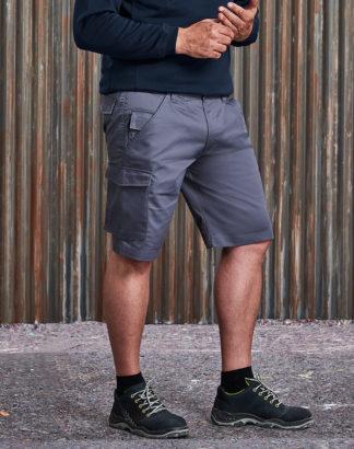 002M Workwear Work Shorts, Convoy Grey