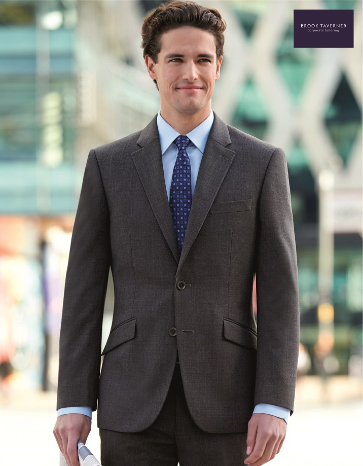 3125 Aldwych Jacket, Brook Taverner, Mid Grey
