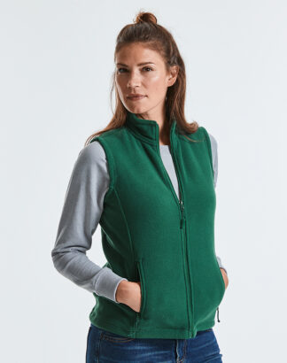 872F Ladies Outdoor Fleece Gilet