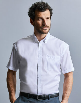 957M Men's Short Sleeve Ultimate Non-Iron Shirt