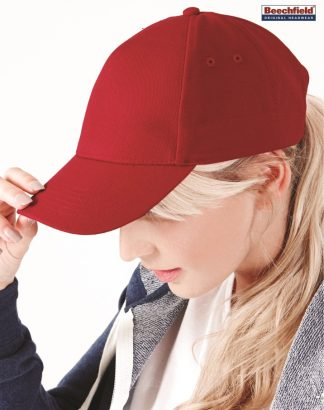 BB15 Ultimate 5 Panel Cap, Beechfield, Classic Red
