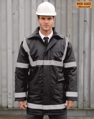 RS23 Reflective Management Coat, Result WorkGuard
