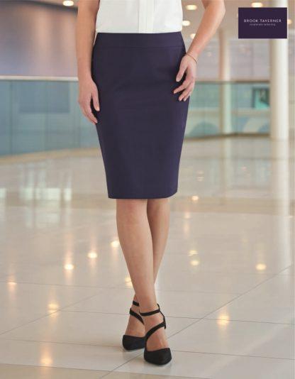 2224 Numana Skirt, Mid Blue