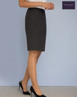 2229 Wyndham Skirt, Mid Grey