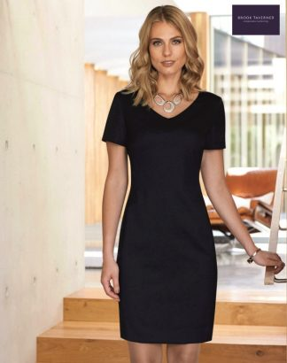 2246 Corinthia Dress, Black