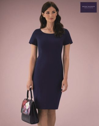 2289 Teramo Dress, Mid Blue