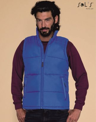 44002 Warm Bodywarmer, royal blue