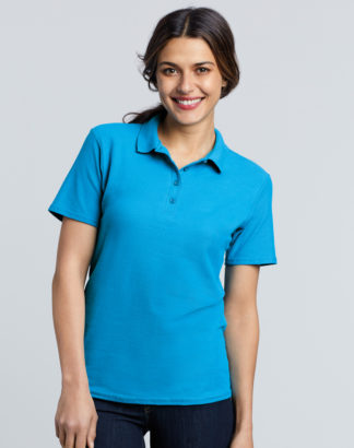 Gildan, GD75 Ladies Softstyle Poloshirt