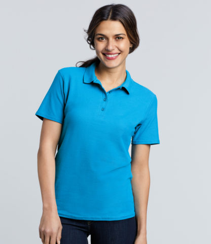 Gildan, GD75 Ladies Softstyle Poloshirt