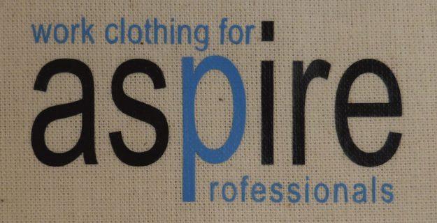 Printed Aspire Work Clothing Logo