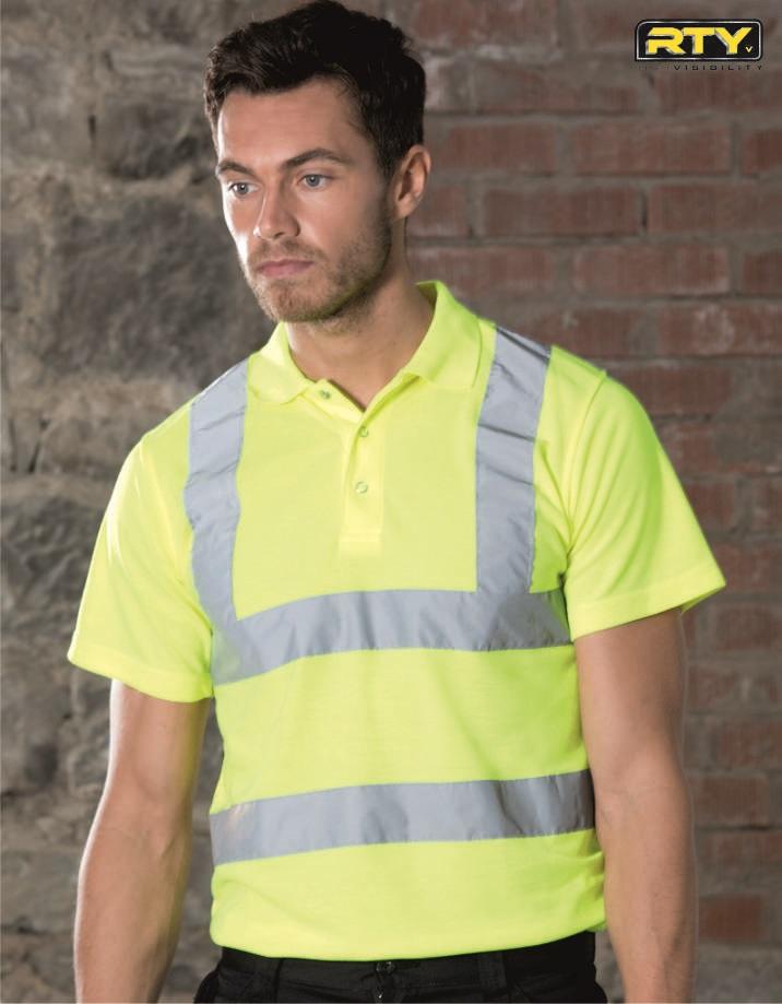 HV70 High Visibility Polo Shirt, RTY
