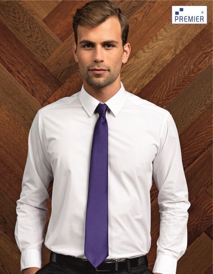 PR750 'Colours' Satin Tie, Premier